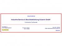 industrie-service-kulanin.de Webseite Vorschau