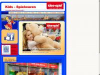 kids-spielwaren.de Webseite Vorschau