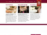 kirchbaeck.de Webseite Vorschau