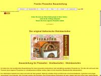 frankspizzaofen.de Webseite Vorschau