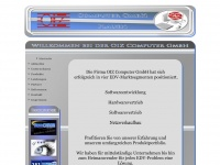 oiz.de Webseite Vorschau