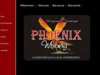 phoenixwerbung.de Webseite Vorschau