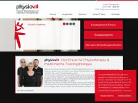 physiovit-chemnitz.de Webseite Vorschau