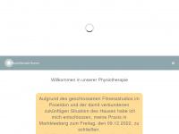 physiotherapie-navara.de Webseite Vorschau