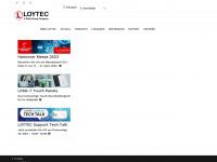 loytec.com Webseite Vorschau