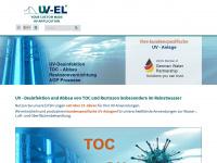 uv-el.de Webseite Vorschau
