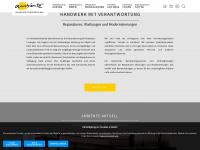 ambiente-wiecha.de Webseite Vorschau