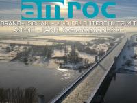 amroc.de Webseite Vorschau