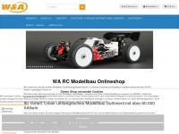 wa-rcmodellbau.de Webseite Vorschau