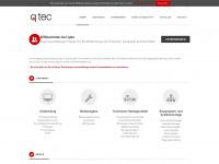 qtec-online.de Webseite Vorschau