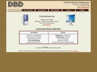 dbdat.de Webseite Vorschau