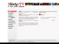 3sixty-tv.de Webseite Vorschau