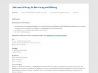 schreiner-stiftung.de
