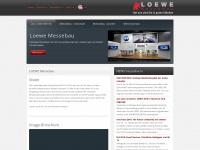 loewe-messebau.de Webseite Vorschau
