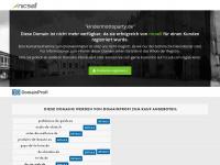 kindermottoparty.de Webseite Vorschau