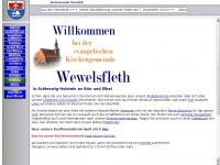 kirche-wewelsfleth.de Webseite Vorschau