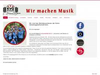 kvg-orchester.de Webseite Vorschau