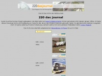220dasjournal.huebsch.at Webseite Vorschau