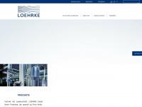 loehrke.com Webseite Vorschau
