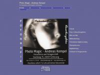 photomagic.de Webseite Vorschau