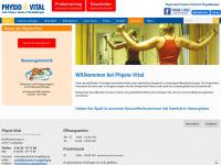 physiovital-langballig.de Webseite Vorschau