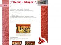 schuh-klinger.de