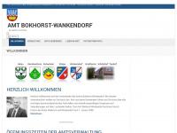 amt-bokhorst-wankendorf.de Webseite Vorschau