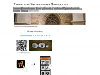 kirchengemeinde-schmalkalden.de Webseite Vorschau