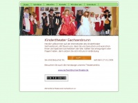 kindertheater-sachsenbrunn.de Webseite Vorschau