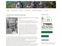 kirchbauverein-jena.de Webseite Vorschau