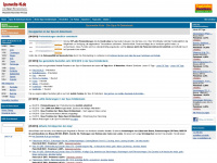 spurweite-n.de Webseite Vorschau