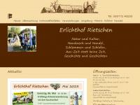 erlichthofsiedlung.de Webseite Vorschau