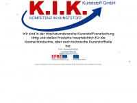 kik-kunststoff.de Webseite Vorschau