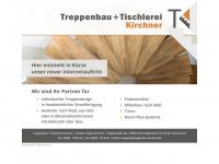 treppenbau-kirchner.de Webseite Vorschau