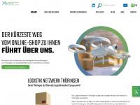 logistik-netzwerk-thueringen.de Webseite Vorschau