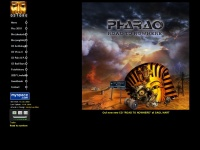 pharao-rockband.de Webseite Vorschau