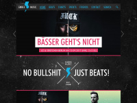 embee-music.de Webseite Vorschau