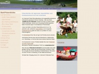 land-uckermark.de Webseite Vorschau
