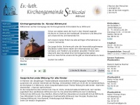 kirche-wittmund.de Webseite Vorschau