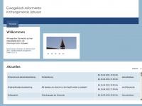 kirche-uphusen.de Webseite Vorschau