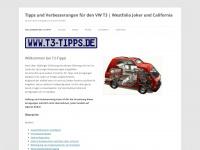 t3-california-tips.de Webseite Vorschau