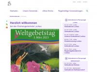 kirche-luckau.de Webseite Vorschau