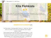 kita-flohkiste.com Webseite Vorschau