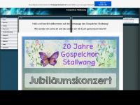 gospelchor-stallwang.de.tl Webseite Vorschau