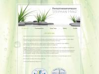 physiotherapiepraxis-hinz.de Webseite Vorschau