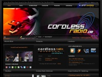 cordless-radio.de Webseite Vorschau