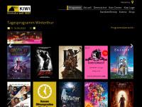 kiwikinos.ch Webseite Vorschau