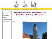 kirche-sdh.de Webseite Vorschau