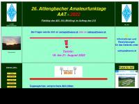 amateurfunktage.at Webseite Vorschau