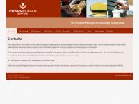 pharmhuman.de Webseite Vorschau